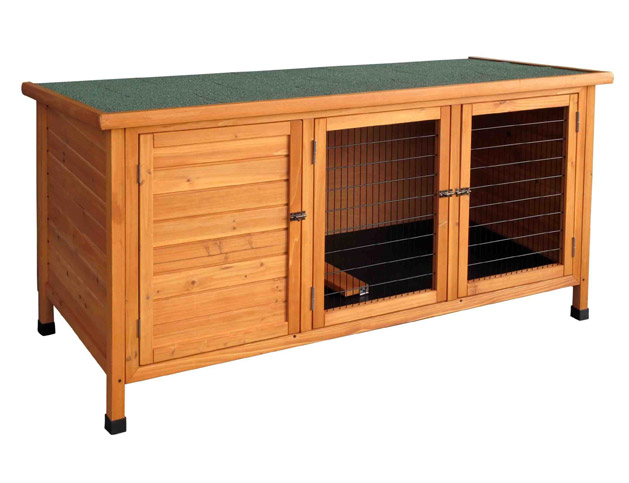10 Free Rabbit Hutch Building Plans and Designs.