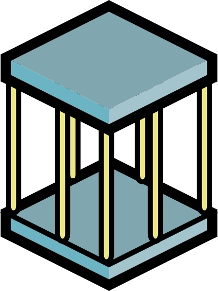 Cage clipart.