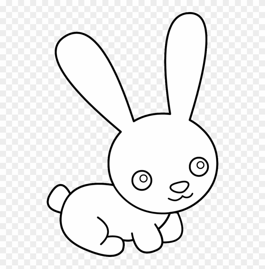 Fast Rabbit Clipart.