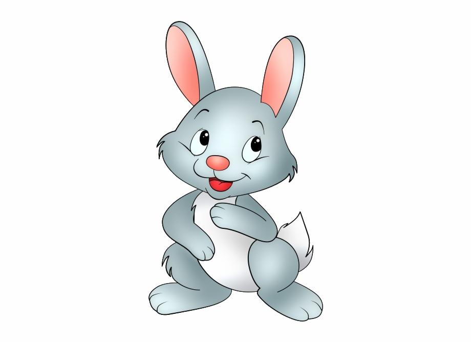Baby Bunny Cartoon Clipart 3 Pixels Karakter.