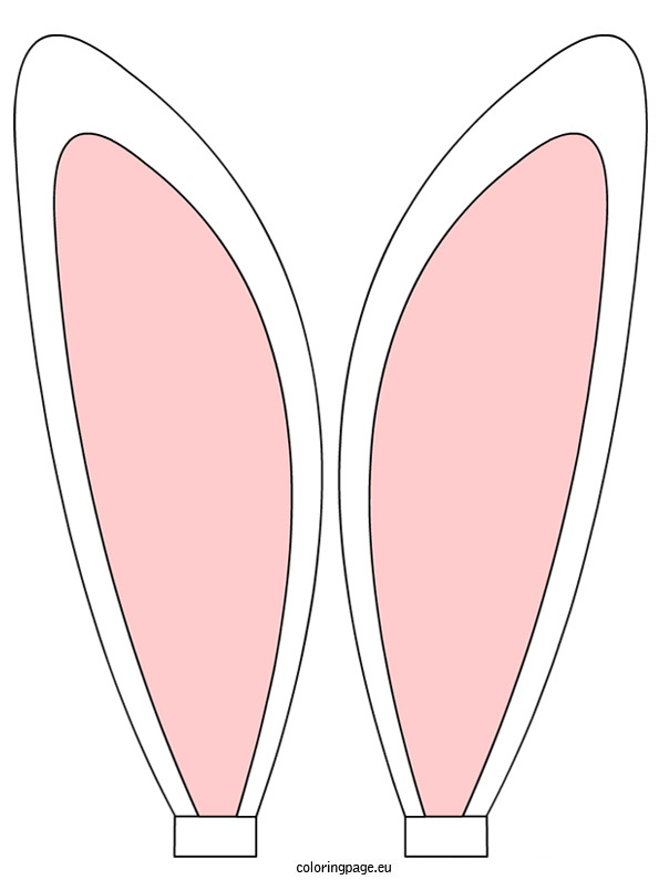 Rabbit ears clipart.