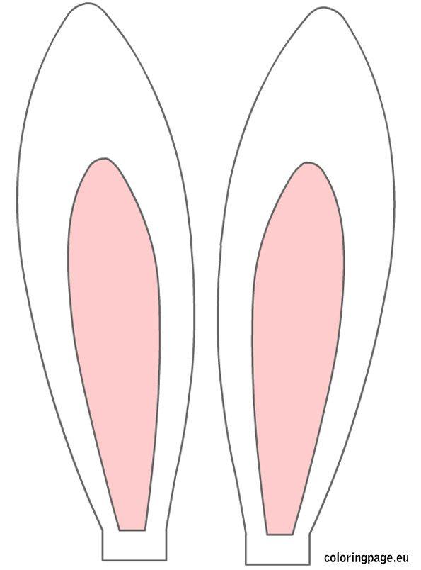 free printable bunny ears.
