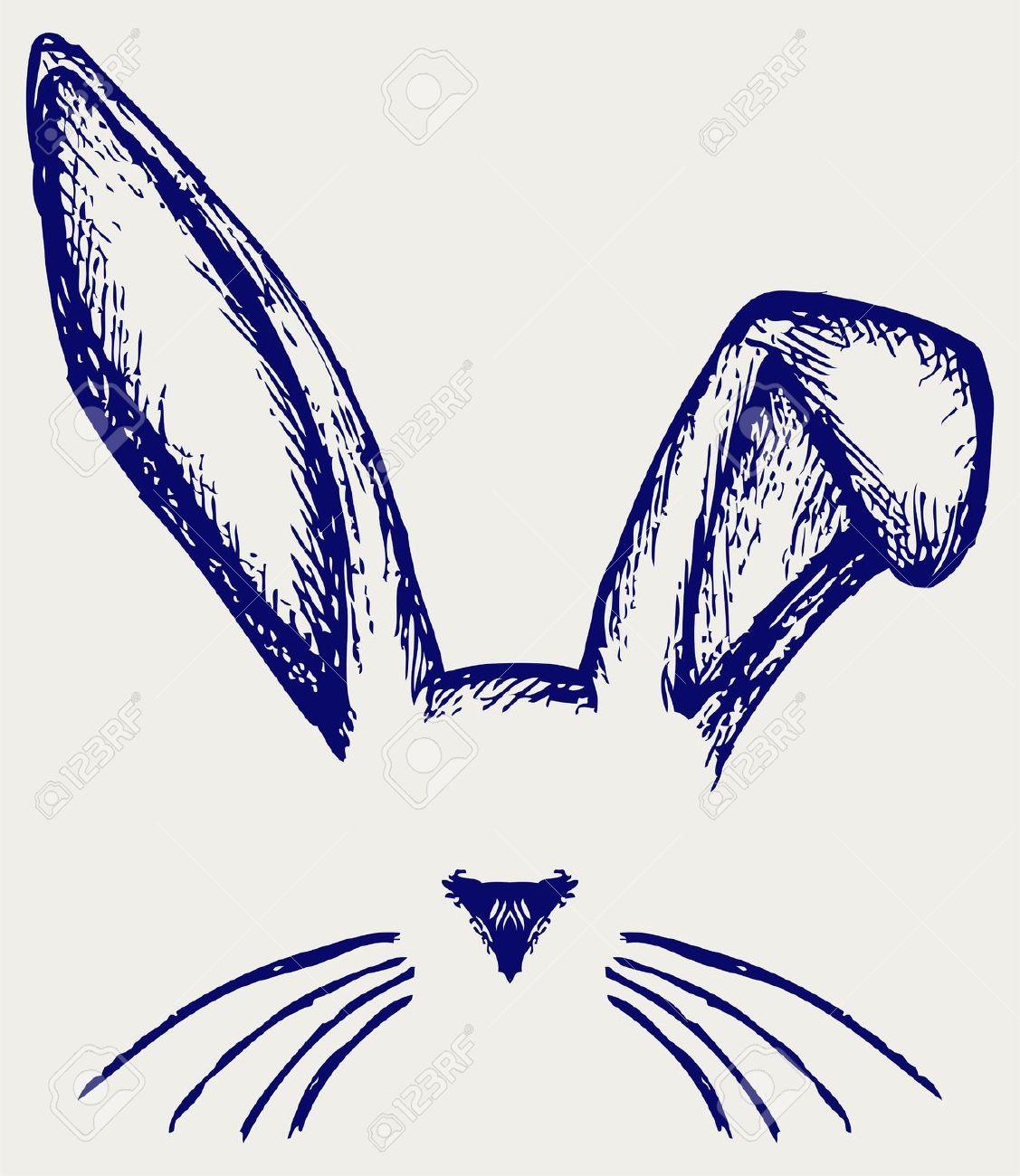 Как рисовать кроличьи уши