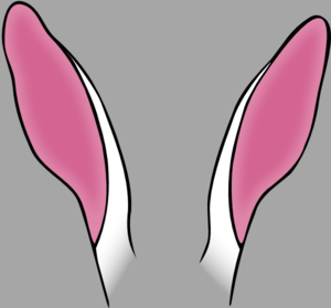 Rabbit Ears Clip Art at Clker.com.