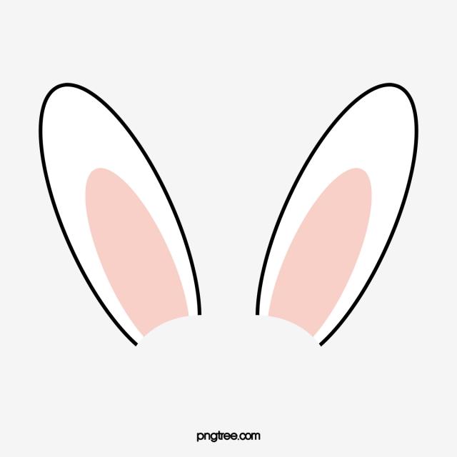Rabbit Ears, Rabbit Clipart, Rabbit, Ear PNG Transparent.