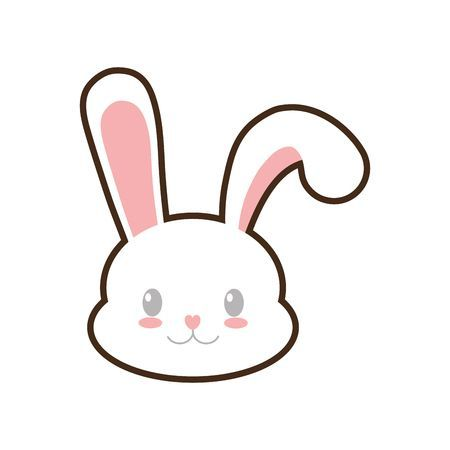 Rabbit face clipart 5 » Clipart Portal.