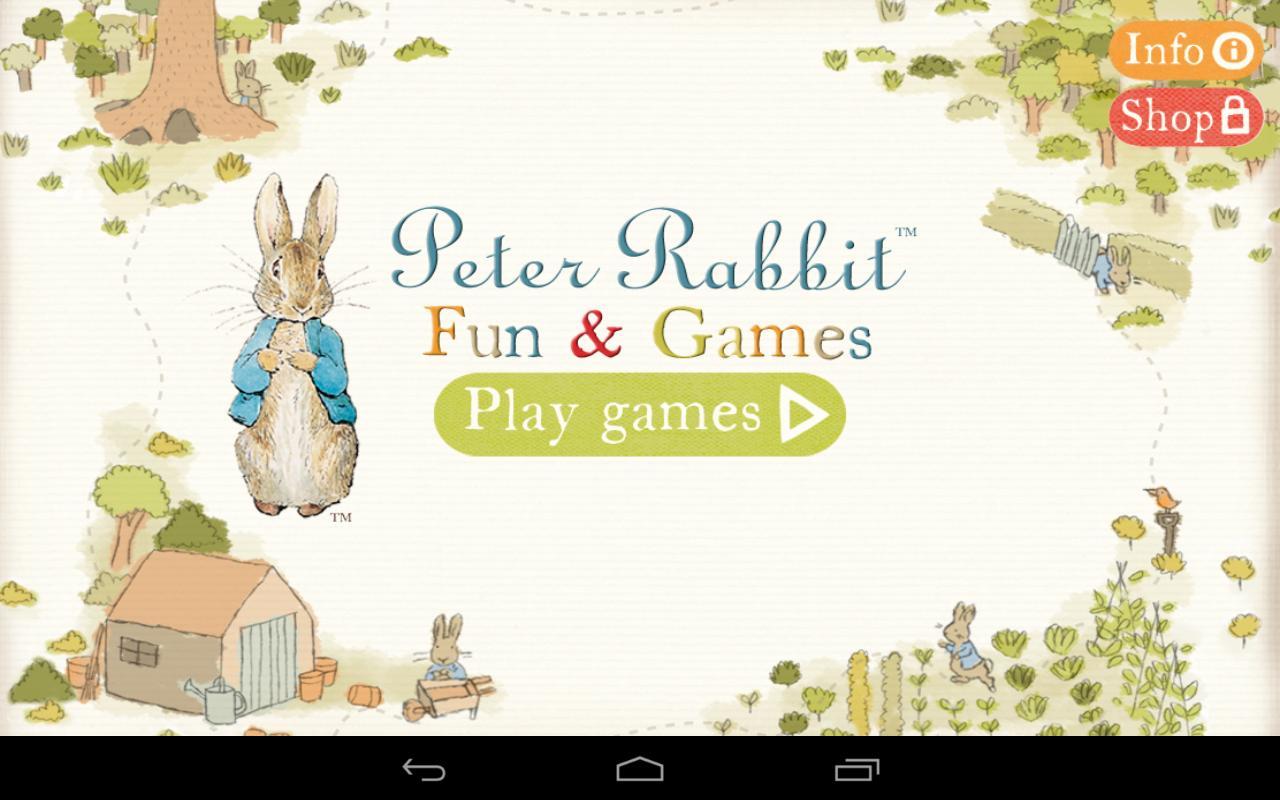 Peter Rabbit Fun and Games.