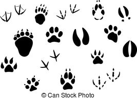 Rabbit tracks Vector Clip Art Royalty Free. 125 Rabbit tracks.