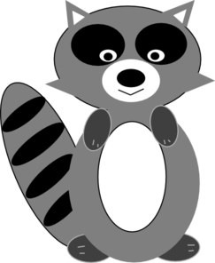 Raccoon clipart free clipart images 2.