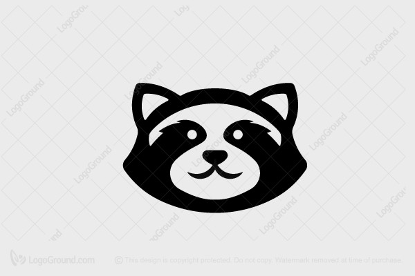 Exclusive Logo 144419, Raccoon Logo.