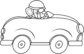 racing cars clipart black and white.