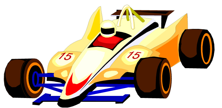 Race car racing cars clip art 2.