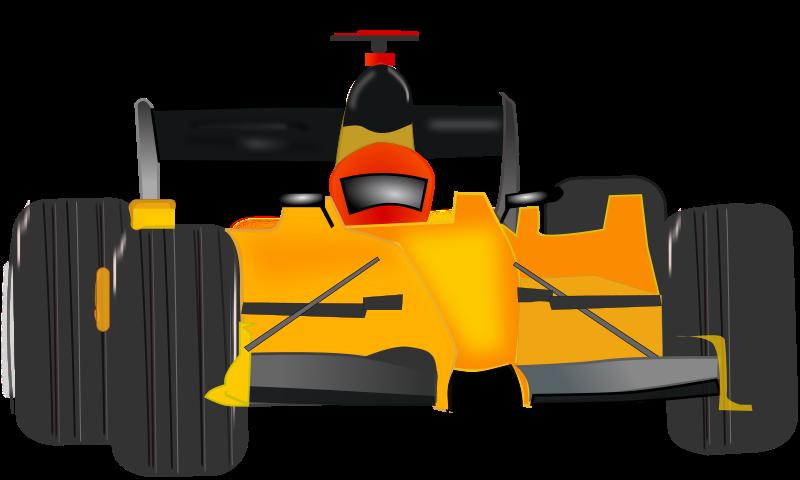 Race Car Clip Arts.