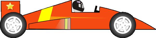 Orange Race Car Clip Art at Clker.com.