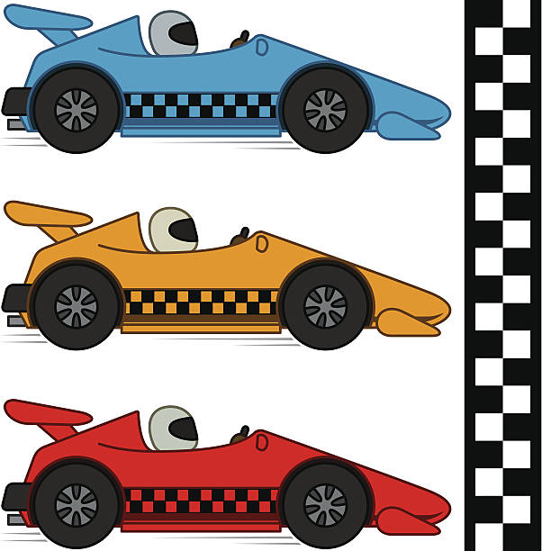 Clip Art Starting Line For Race Car