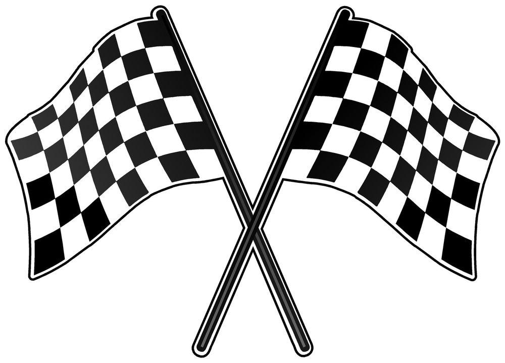 Racing Flag Clipart.