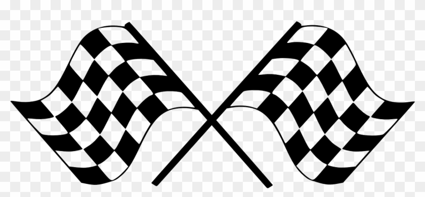 Finish Flag Checkered Car Race Png Image.
