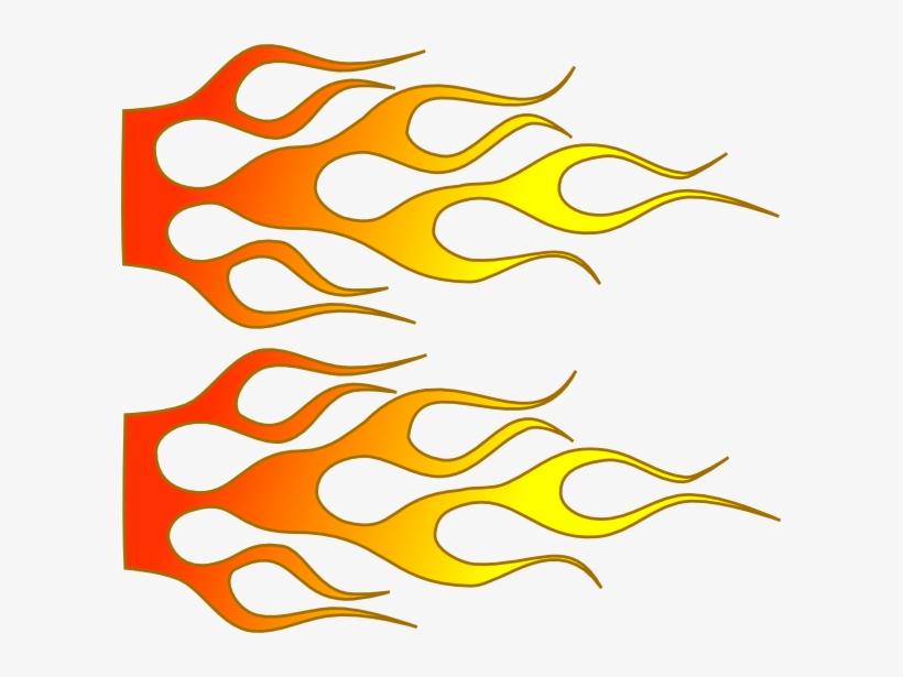 Racing Flames Png.