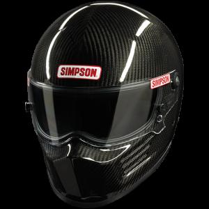 Simpson Carbon Fiber Bandit SA2015 Auto Racing Helmet.