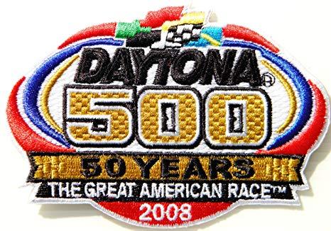 Amazon.com: DAYTONA 500 RACE Racing Car Logo Patch Sew Iron.