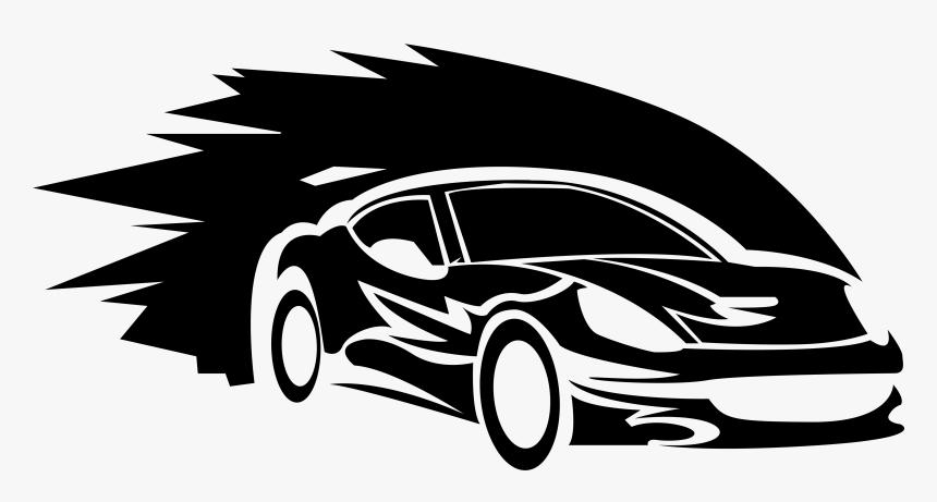 Sports Car Logo Auto Racing.