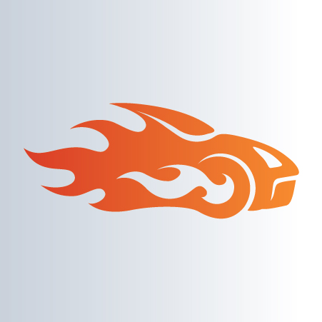 Car Race Logo Template.