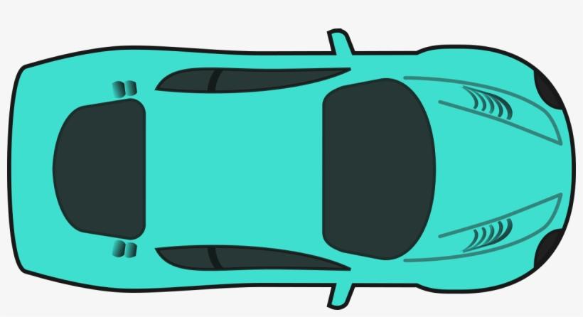 Turquois Racing Car.