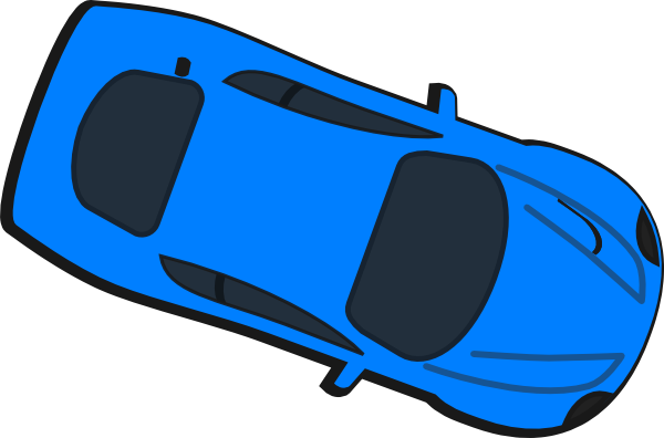 race car top down clipart #4