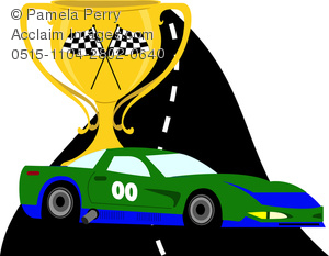 Race car trophy clipart » Clipart Station.