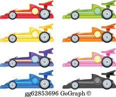 Race Car Clip Art.