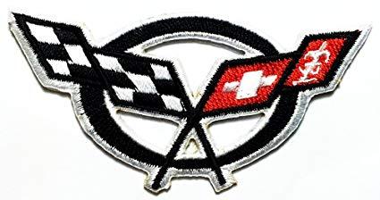 Chevrolet Corvette Cars Motorsport Racing Car logo patch Jacket T.