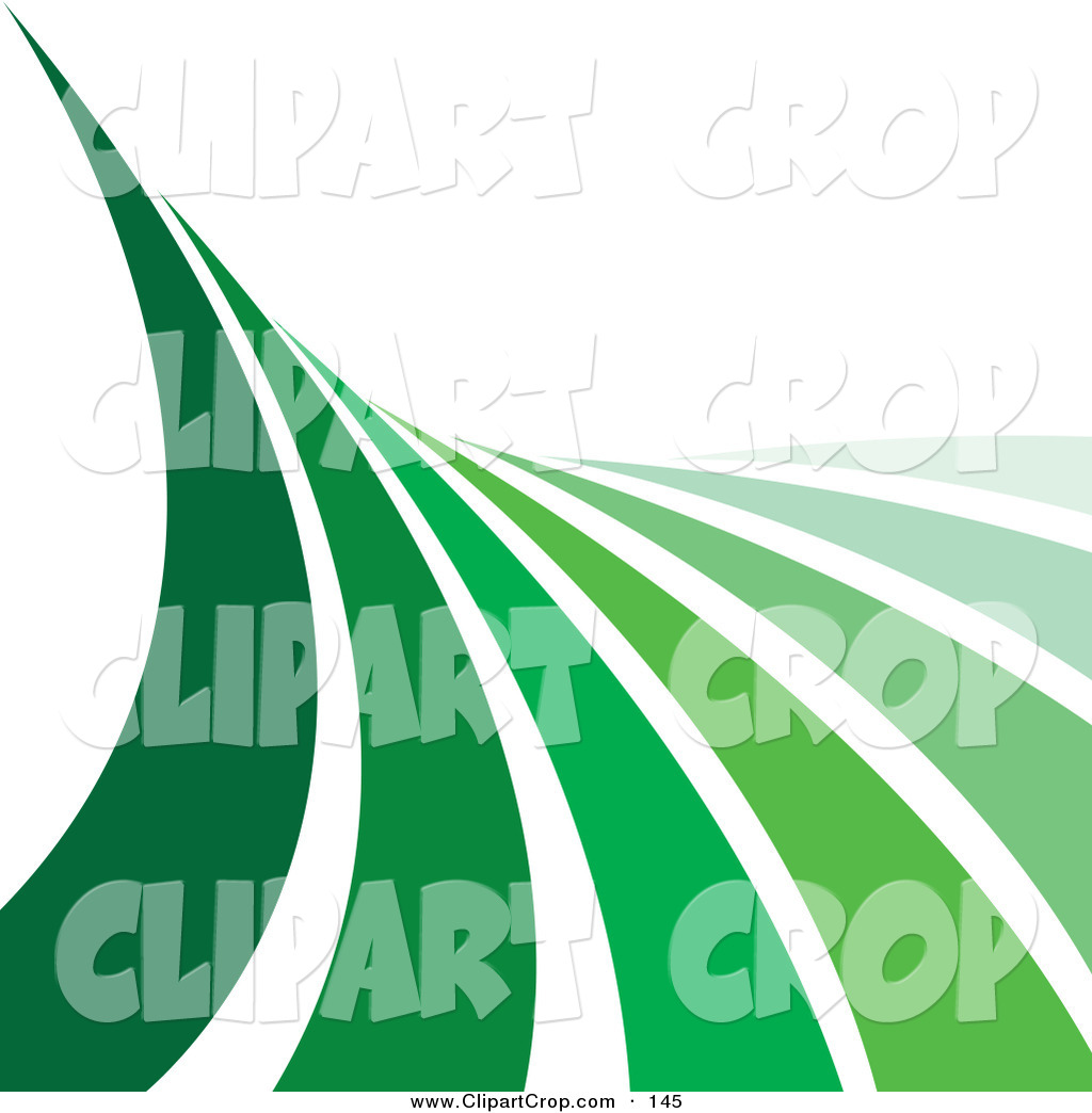 Green Race Course Clipart.