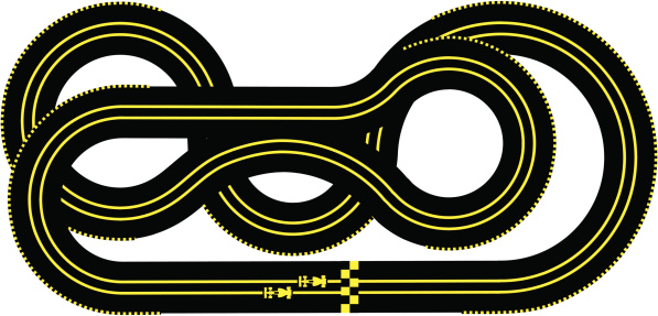 Race track clipart images.