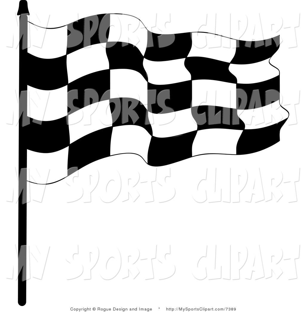 Race Flag by Pams Clipart.