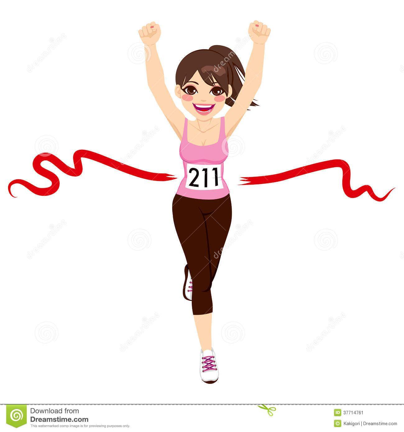 clipart race marathon finish line.