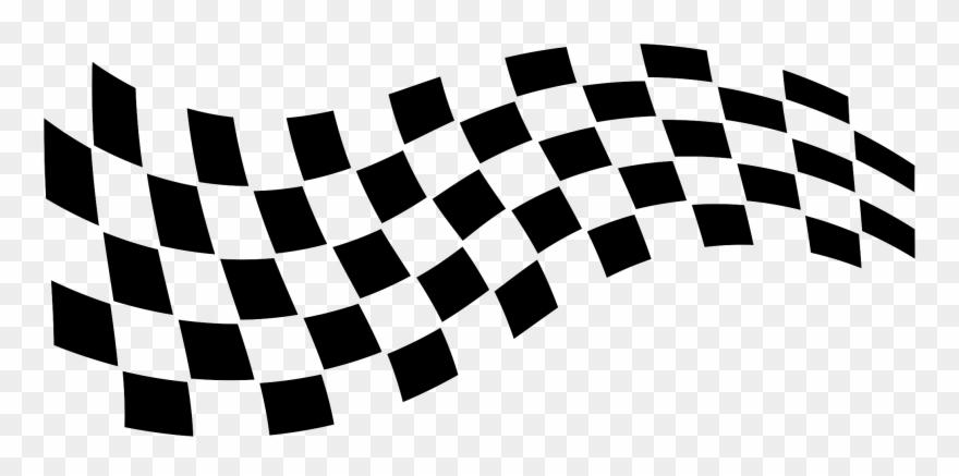 Racing Flag Vector Png.