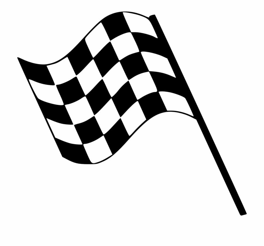 Clip Art Race Flag.