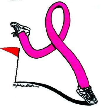 Pink Ribbon Running.