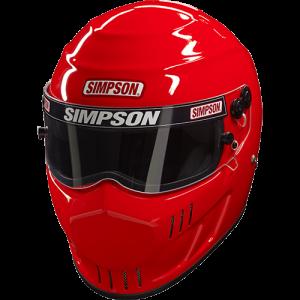 Simpson Street Bandit Racing Helmet.