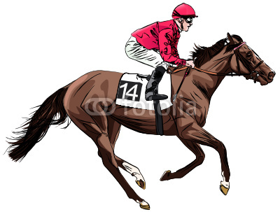 Horse Track Clipart.