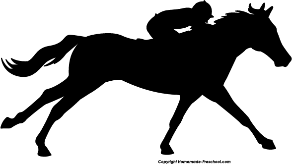 Free Race Horse Silhouette, Download Free Clip Art, Free.