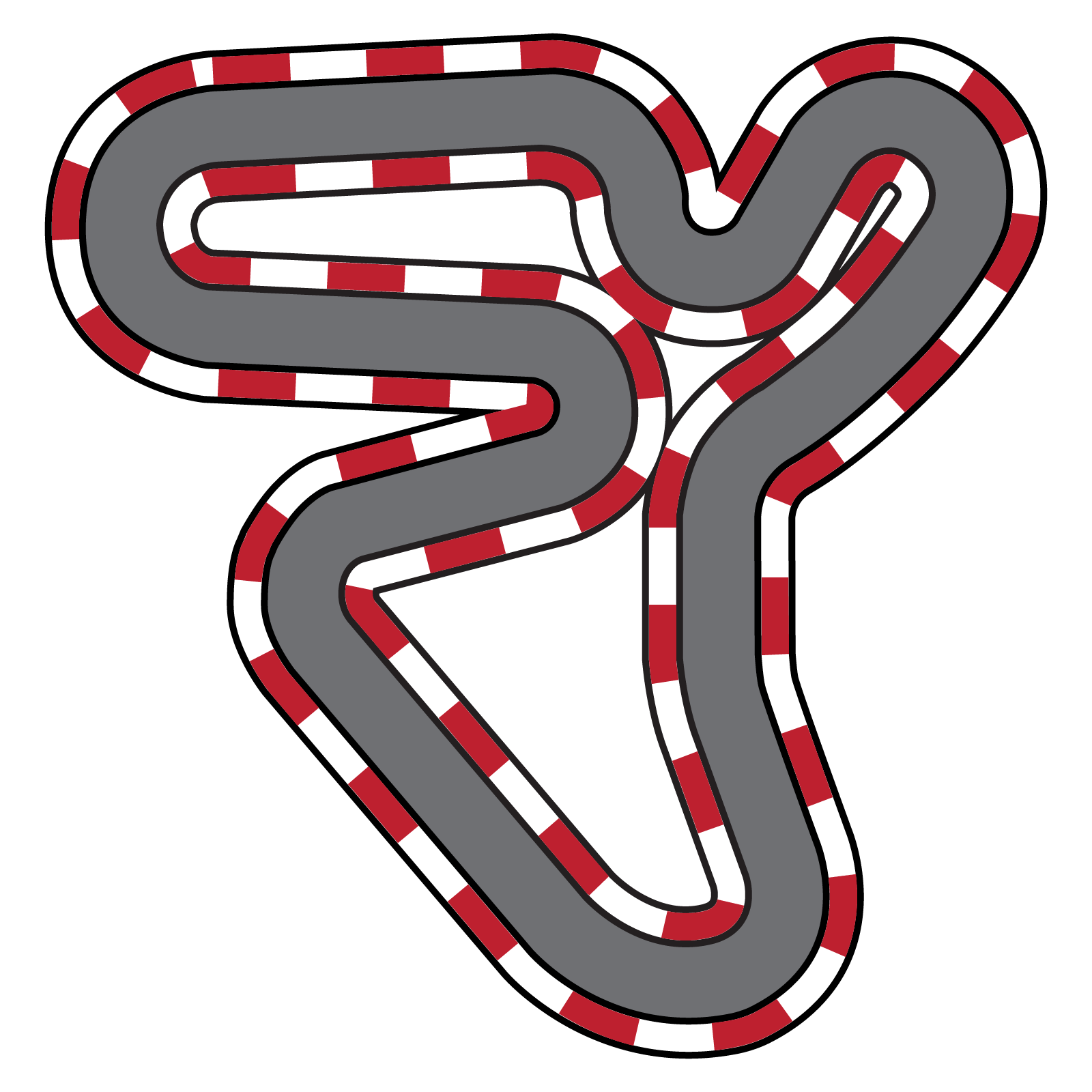 Race track clipart clipart images gallery for free download.