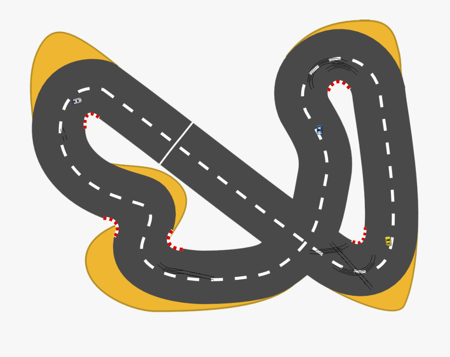 Jpg Black And White Race Track Clipart Free.