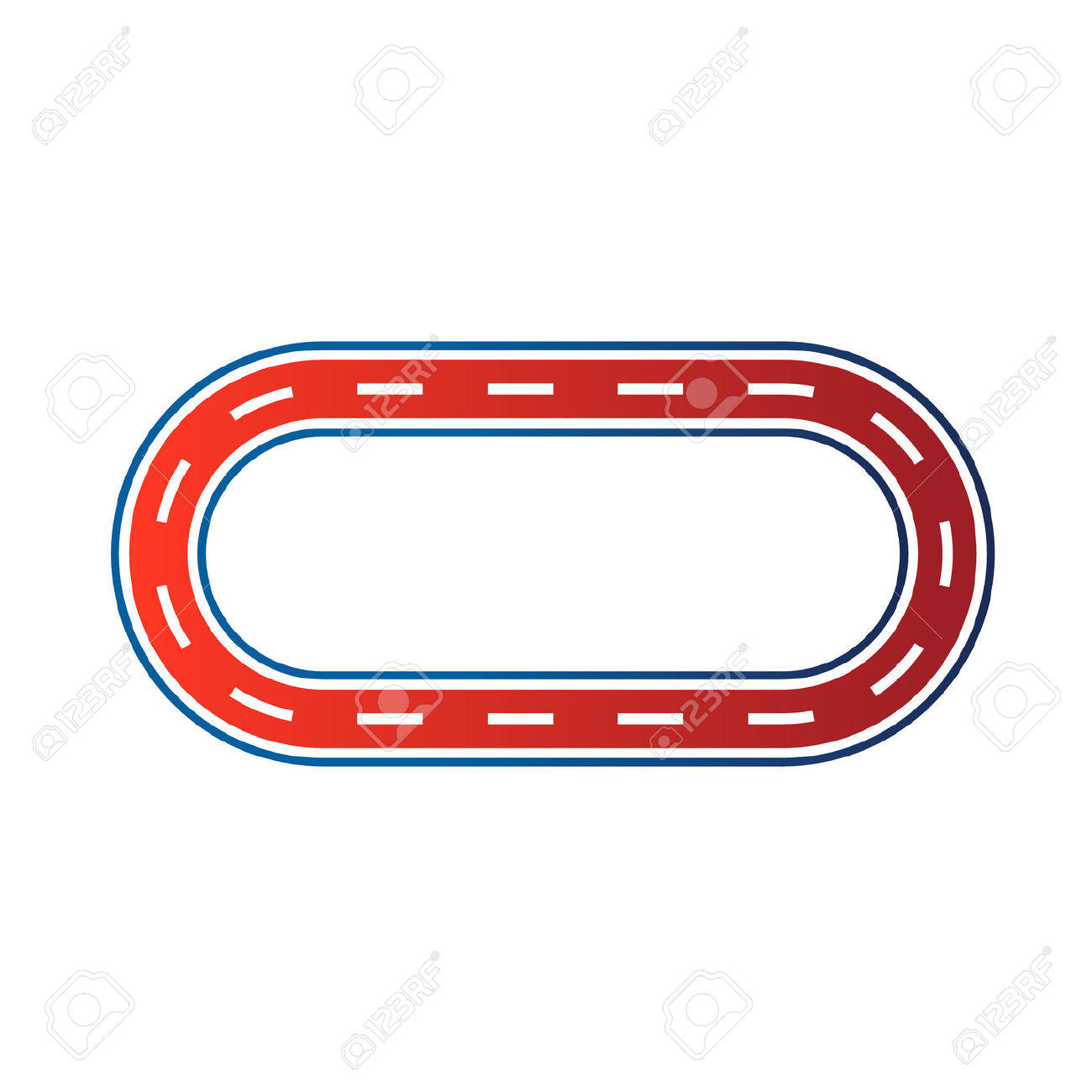 Race track clipart #3