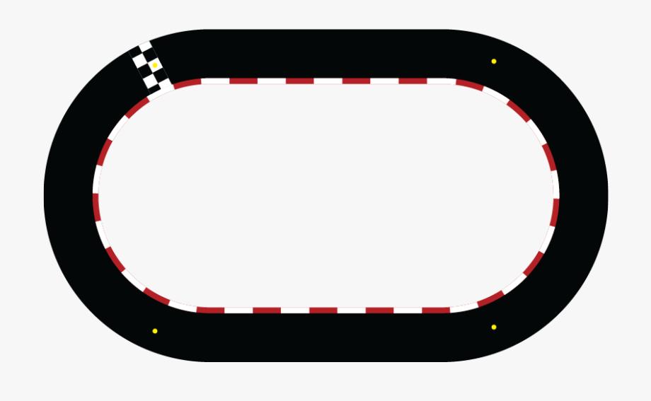 Car Race Track Clipart Border.