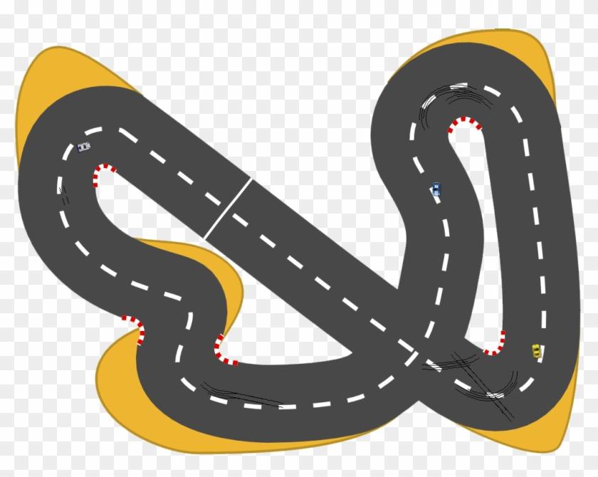 Car Race Track Auto Racing Clip Art.