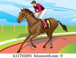 Racecourse Clip Art Vector Graphics. 56 racecourse EPS clipart.