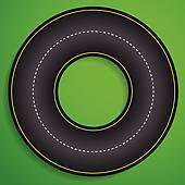 Racetrack Clip Art.