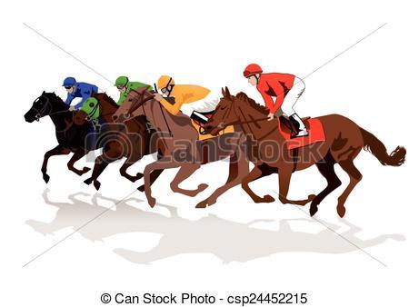 Vector Clip Art of Racecourse csp24452215.