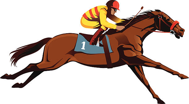 Racehorse clipart 8 » Clipart Station.